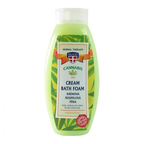 Bagno Schiuma olio di canapa 500ml
