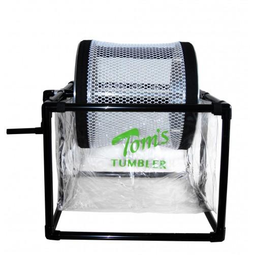 TOM'S TUMBLER - TRIMMER A SECCO TTT1600 HAND CRANK (A MANOVELLA)   MANUALE