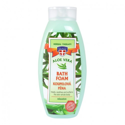 BAGNOSCHIUMA ALL'ALOE VERA CON OLIO DI OLIVA E YOUGURT 500 ML  -ORDINABILE-