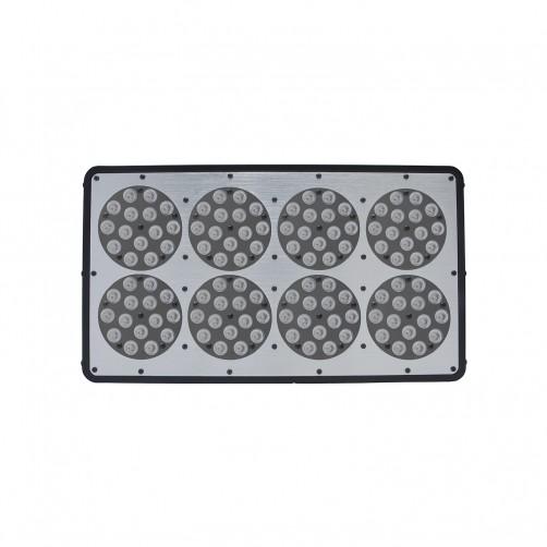 ORTOLED 8 LED COLTIVAZIONE INDOOR GROWLUX 384W CONSUMO REALE 280W CRESCITA+FIORITURA