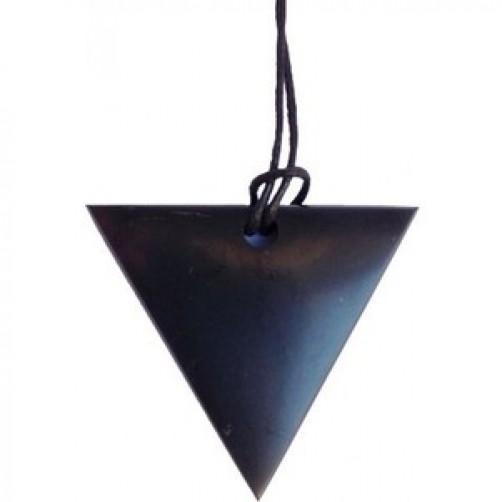 """Ciondolo triangolare """"Donna"""" in Shungite"""