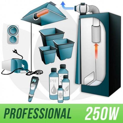 KIT INDOOR TERRA 250W + GROW BOX - PRO
